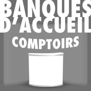 BANQUE D'ACCUEIL - Comptoir